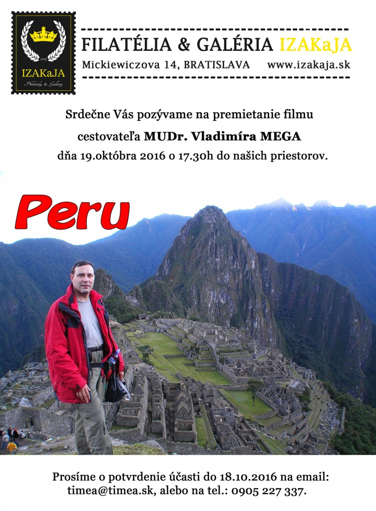 pozvanka-Peru