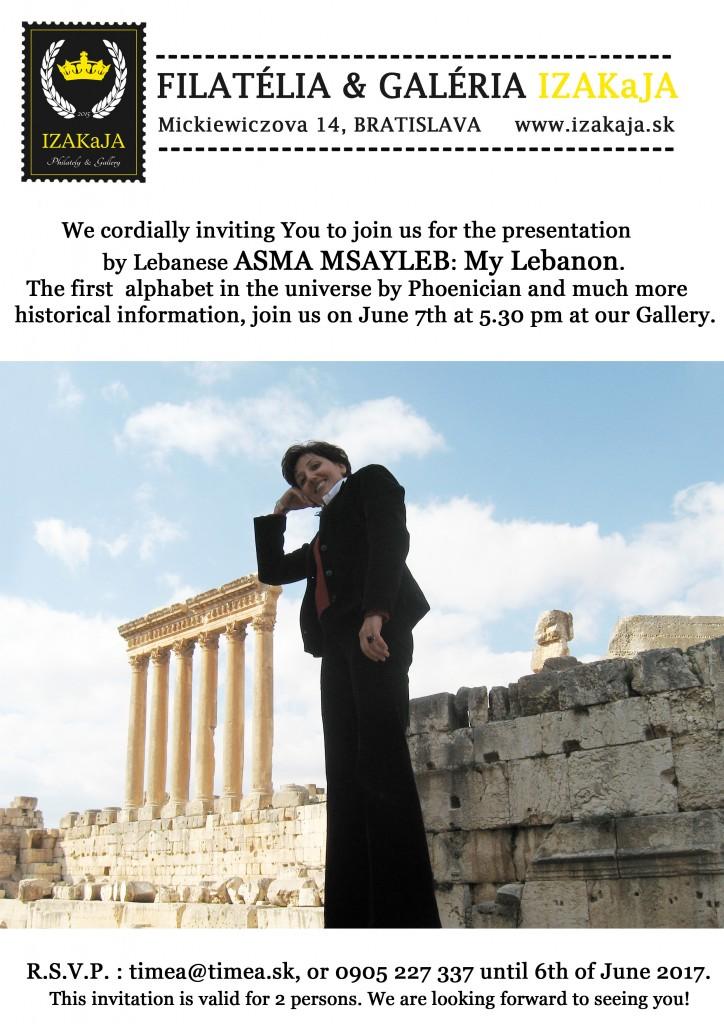 pozvanka-Libanon